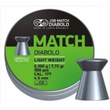 Diabolky Green Match Light Weight 500 kusov, 0,50g